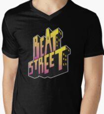 Beat Street Old School Hip Hop Men's V-Neck T-Shirt