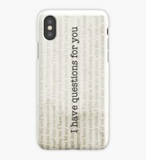 Camila Cabello - I HAVE QUESTIONS FOR YOU iPhone Case/Skin