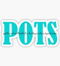 POTS pots Sticker