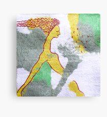mermaid sleep Canvas Print