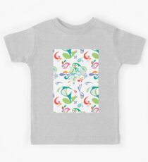 Justice white Kids Tee