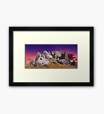 Castle Hill Panorama Framed Print