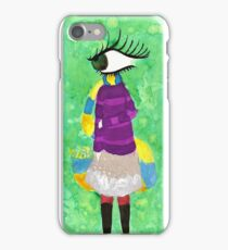 Aventurine In The Teal District iPhone Case/Skin