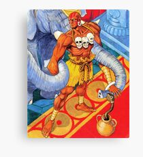 Dhalsim Canvas Print