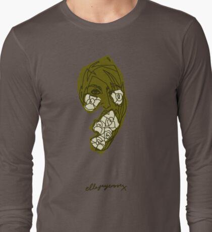 'Khaki Rose' T-Shirt