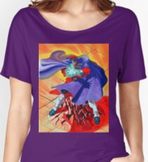 M Bison Women's Relaxed Fit T-Shirt