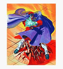M Bison Photographic Print