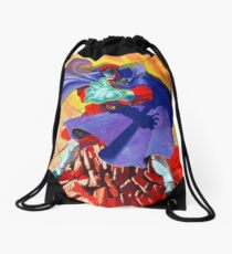 M Bison Drawstring Bag