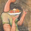 Rock Chick Eats Pie by Katfish