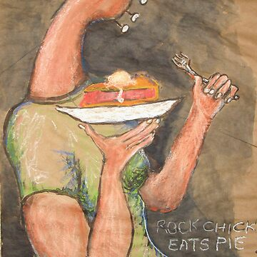 Rock Chick Eats Pie by Katfish