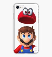 Super Mario Odyssey - With Hat iPhone Case/Skin