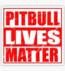 Pitbull Lives Matter Sticker