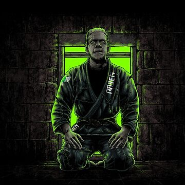 BJJ Frankenstein by ravenfightwear