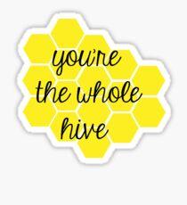 Whole Hive Sticker