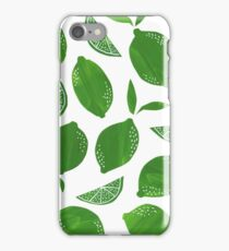 Cut + Paste Lime Pattern iPhone Case/Skin