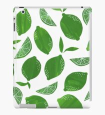 Cut + Paste Lime Pattern iPad Case/Skin