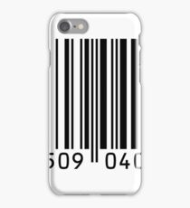 Barcode graphic iPhone Case/Skin