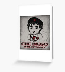 Che Diego  Greeting Card