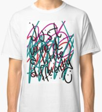 """Autism Aspergers Syndrome - """"Just wired a little differently"""" Classic T-Shirt"""