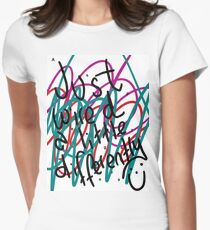 """Autism Aspergers Syndrome - """"Just wired a little differently"""" Women's Fitted T-Shirt"""