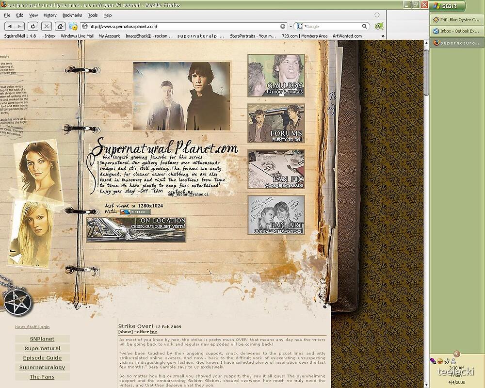 Supernaturalplanet.com by teelecki