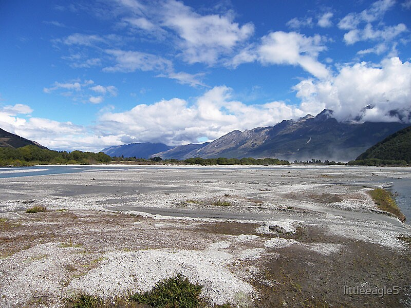 LORD OF THE RINGS COUNTRY, SOUTH ISLAND NEW ZEALAND by littleeagle5