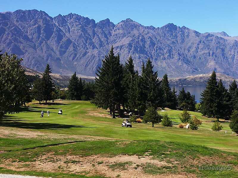 ANYONE FOR GOLF, QUEENSTOWN GOLF COURSE QUEENSTOWN,NEW ZEALAND by littleeagle5