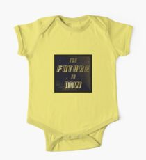 The Future is Now - Gold in Space w/Solar Wind One Piece - Short Sleeve