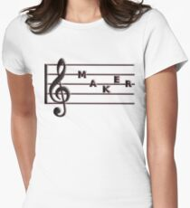 Trouble Maker, Treble Maker  Womens Fitted T-Shirt