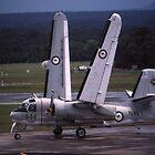 Grumman Tracker - Hands Up (Wings Folding),Australia by muz2142