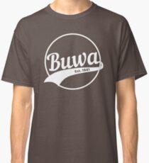 Buwa in White Classic T-Shirt