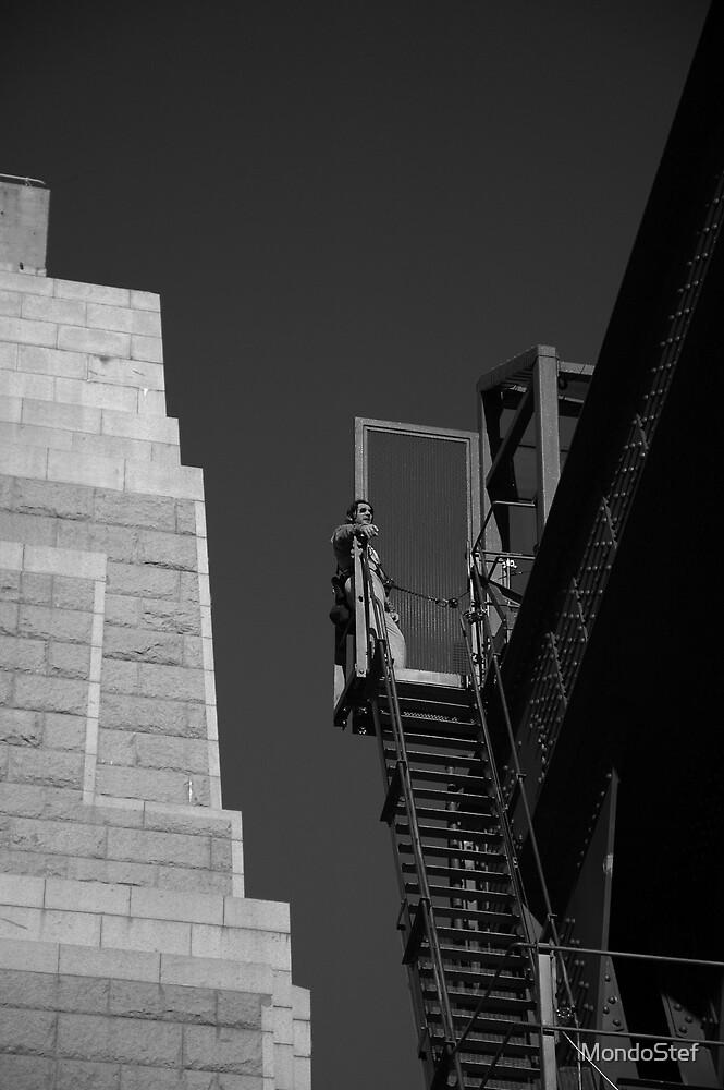 Bridge Climber by MondoStef