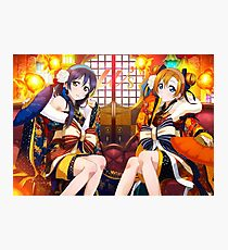 Love Live! School Idol Project - New Year, New Live! ♪ Photographic Print