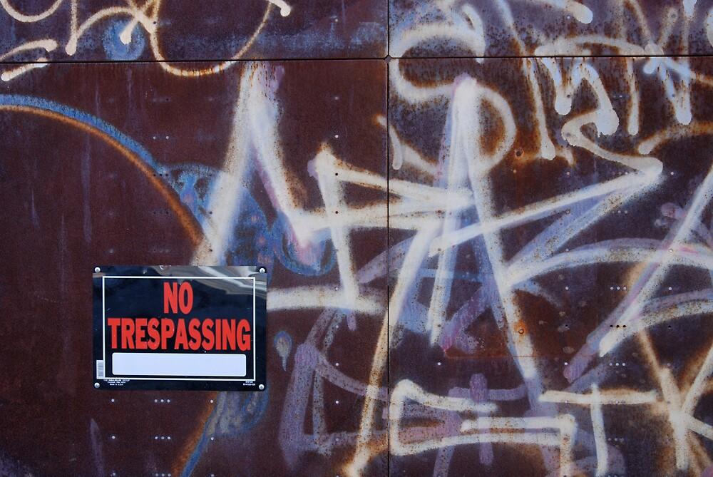 Graffiti by Robert Baker