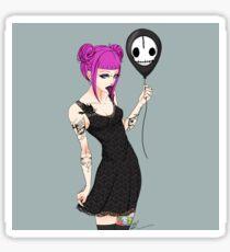 Gloomy Girl Sticker