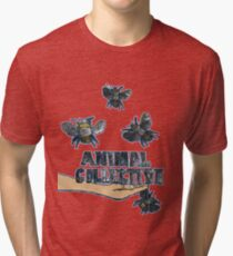 Animal Collective Bees Tri-blend T-Shirt