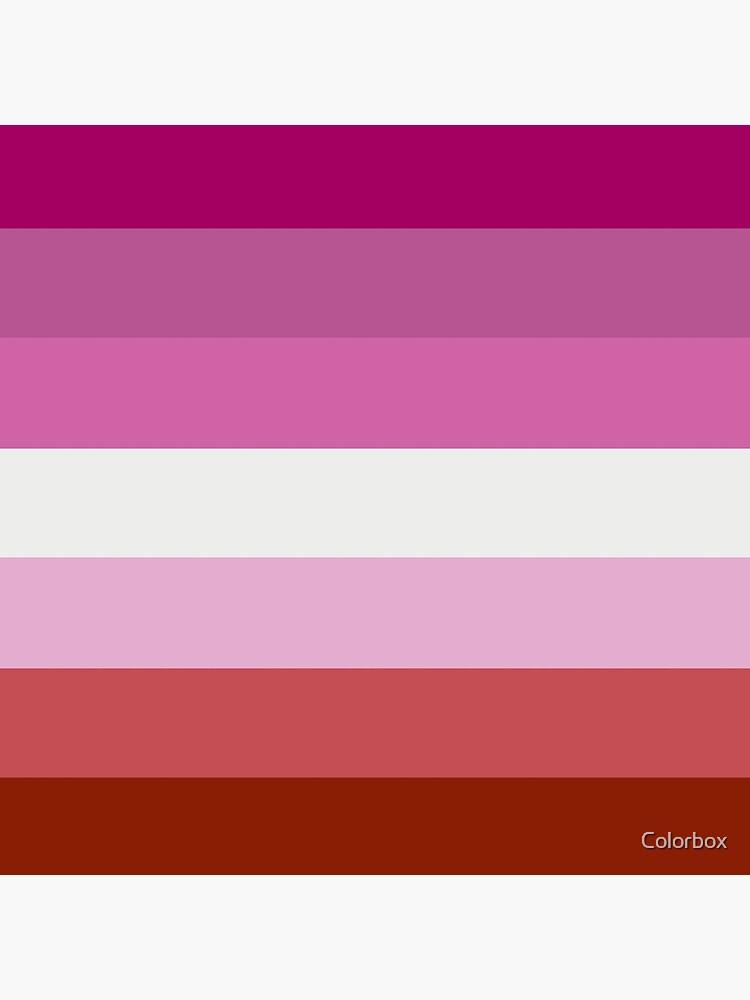 Lesbische Stolz-Flagge von esyspam