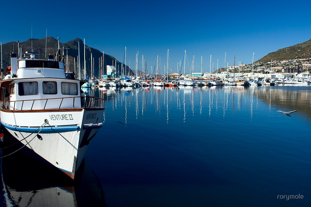 Yacht basin Hout Bay harbour by rorymole