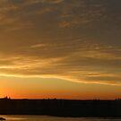 Sunset in Spokane, Washington USA by DonnaMoore