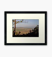 Mount Inkerman View - East, Queensland, Australia 2012 Framed Print