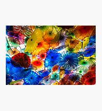 Amazing Chihuly Glass Photographic Print