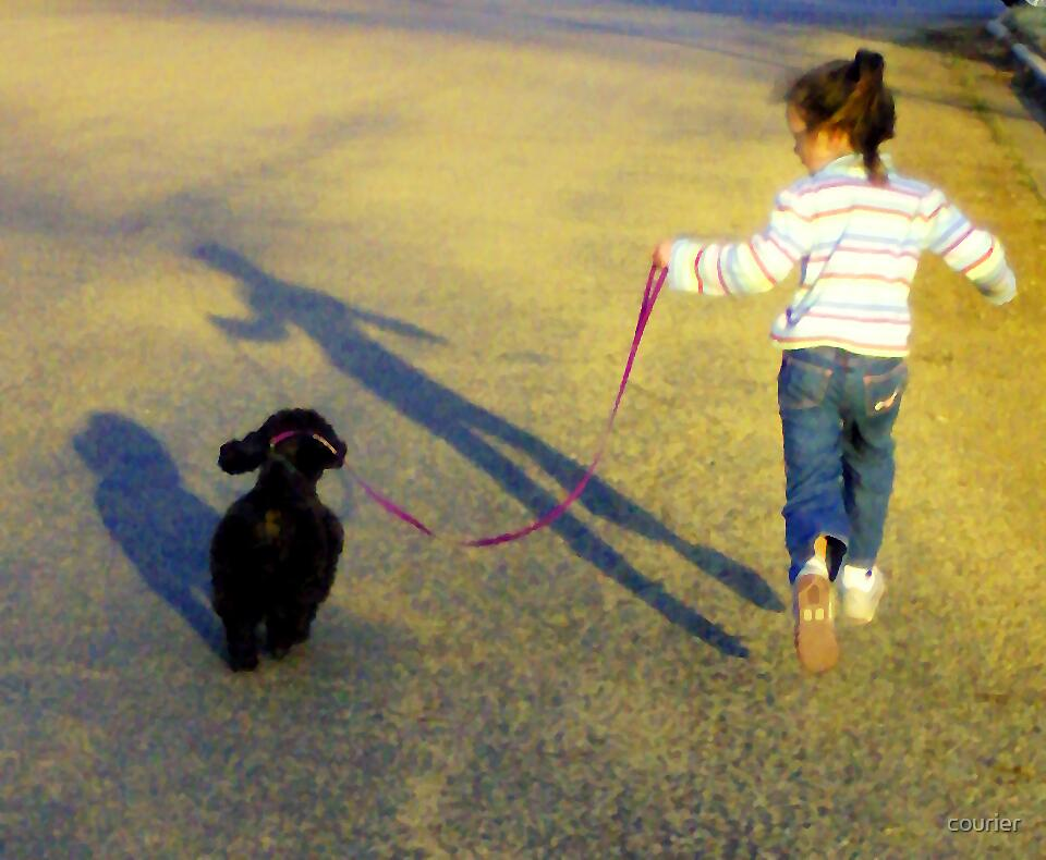 Me and my shadow by courier