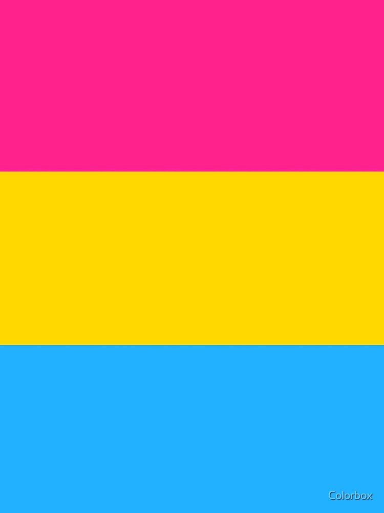 Pansexual Pride Flag by esyspam