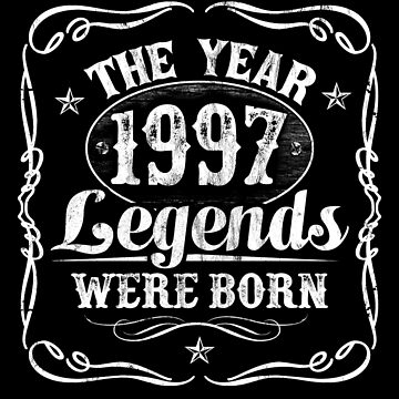 The Year Legends Were Born 1997 by Irregulariteez