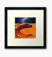 Dune Warriors Framed Print