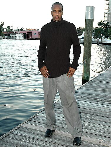 Male Model on the Pier by californiagirl