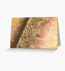 FRACTURE COLLECTION ~ SPICE Greeting Card