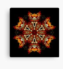 The Dark Knights in the Hall of Bones Canvas Print