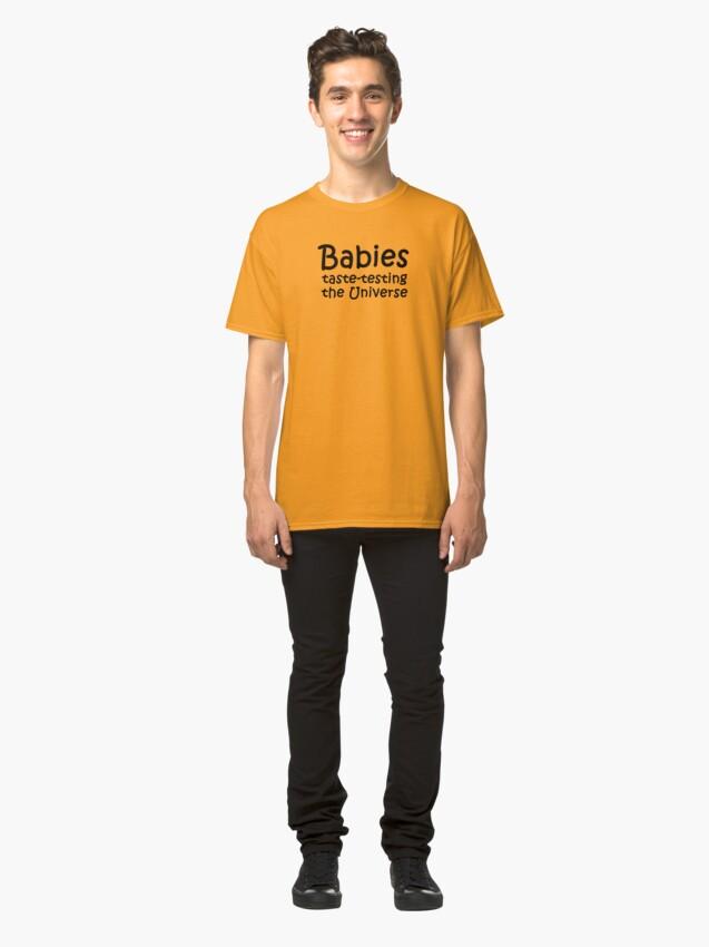 Alternate view of Babies Taste Testing Classic T-Shirt