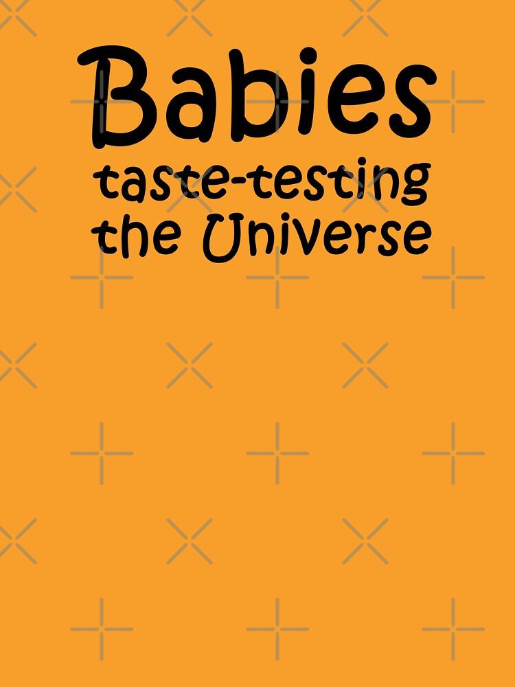 Babies Taste Testing by Thogek